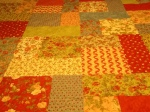 Judy's quilt coral