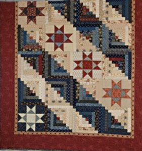 free log cabin pattern