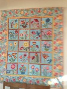 hanging quilt