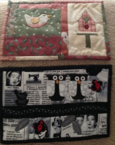 mug rugs received