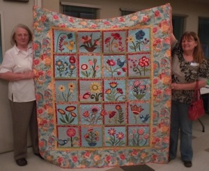 winning quilt