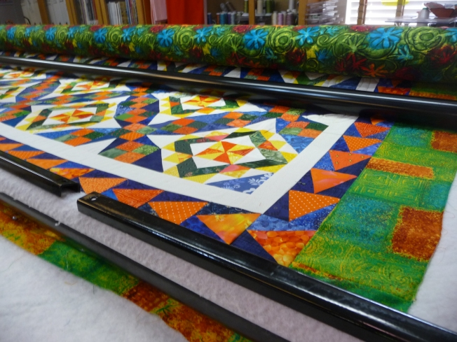 Bonnie Hunter 2013 Mystery Quilt