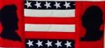presidents mug rug